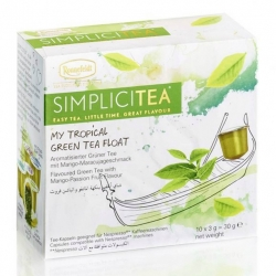 SIMPLICITEA My Tropical Green Tea Float, 10 kapslí