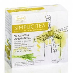 SIMPLICITEA My Ginger & Lemon Breeze, 10 kapslí